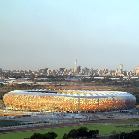 Soccer City by Boogertman Urban Edge + Partners and Populous