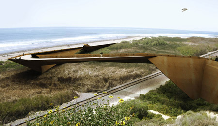 Trestles Beach footbridge by Dan Brill Architects - harry - 哈梨见竹视雾所