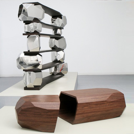 Rock Series by Arik Levy at Design Miami/Basel
