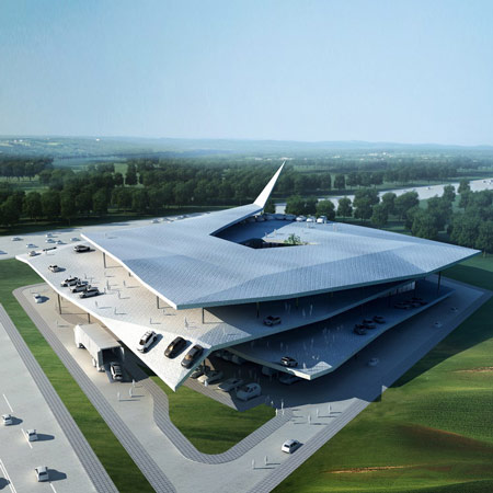 Automobile museum by Gatti Architecture Studio