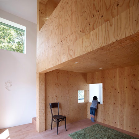 Belly House by Tomohiro Hata