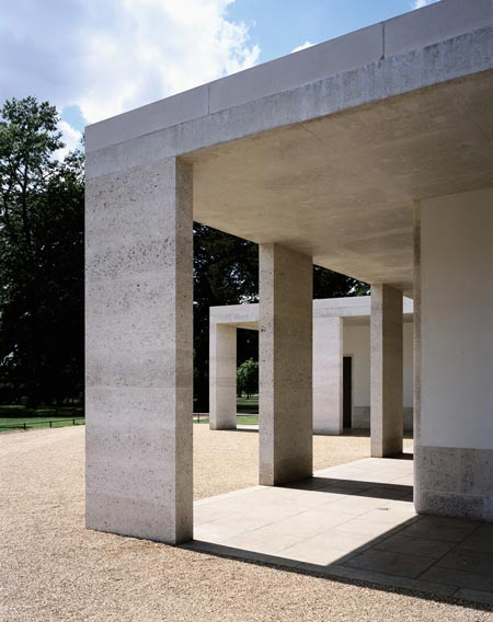 Chiswick House Gardens cafe by Caruso St John Architects Richard Bryant