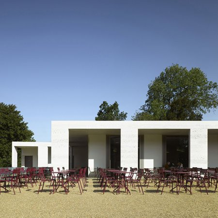 Chiswick House Gardens cafe by Caruso St John Architects