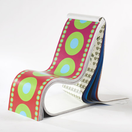 Darwin chair by Stefan Sagmeister