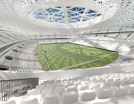 Новый облик стадиона Динамо в Москве.  10 фото, Новый стадион динамо.