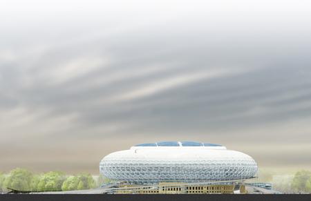 Dynamo Stadium by Erick van Egeraat