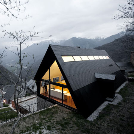 House in the pyrenees by cadaval sol morales dezeen for Mtn house