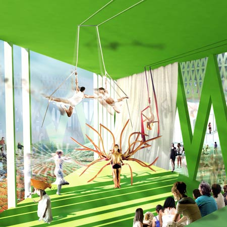 House of Culture and Movement by MVRDV and ADEPT