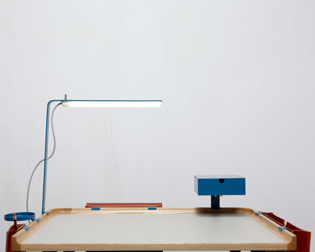 Minimal Work Station by Fredrik Paulson
