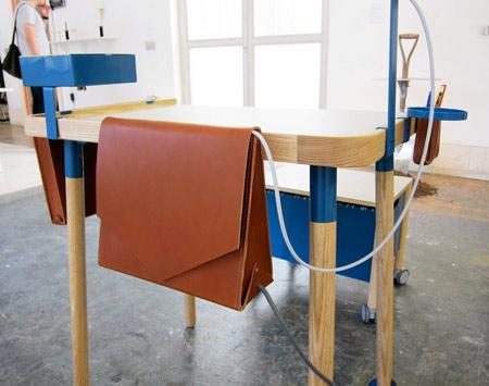 Minimal Work Station by Fredrik Paulson