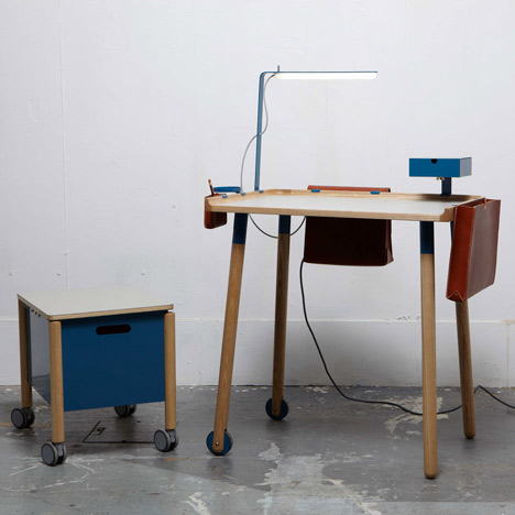 Minimal Work Station by Fredrik Paulsen