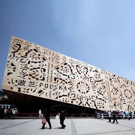 Polish Pavilion for Shanghai Expo 2010 by WWAA Architects
