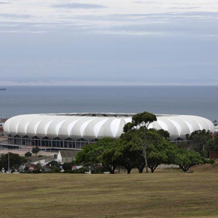 Nelson Mandela Bay Stadium by GMP Architekten