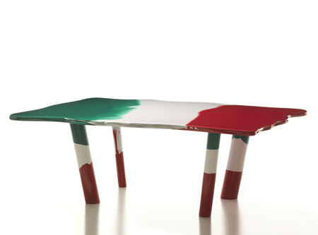 Table Italia by Gaetano Pesce for Cassina