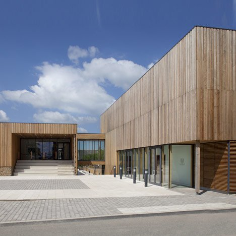 West Buckland School by Rundell Associates