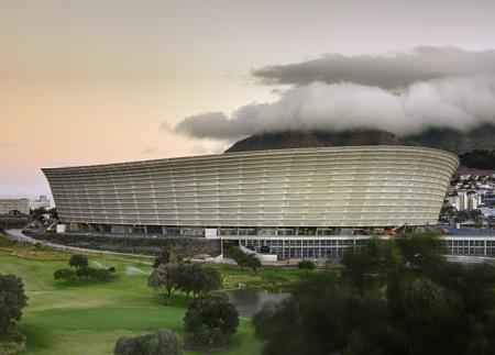 Green Point Stadium by GMP Architekten