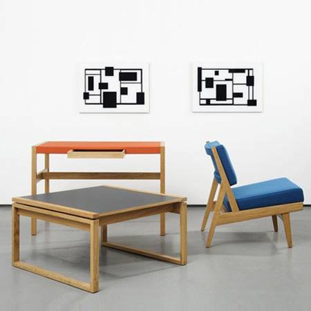 Jens Risom furniture re-issued by Rocket and Benchmark