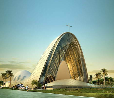 Church of the Transfiguration by Dos Architects