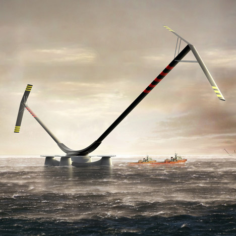 Aerogenerator X by Grimshaw and Arup