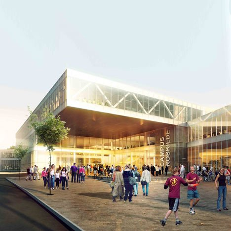Campus Roskilde by Henning Larsen Architects