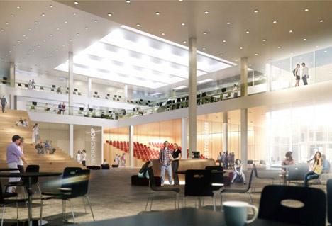 Campus Roskilde by Henning Larsen Architects