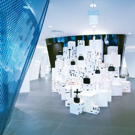 c904d0a678dfb Comme des Garcons Aoyama installation by Studio Toogood
