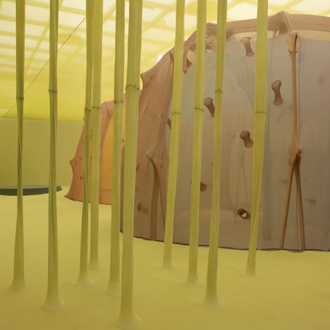 The Edges of the World by Ernesto Neto