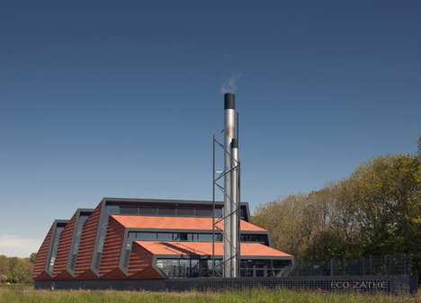 Essent Energy heating plant by Bonnema