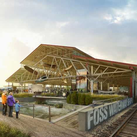 Foss Waterway Seaport by Olson Kundig Architects