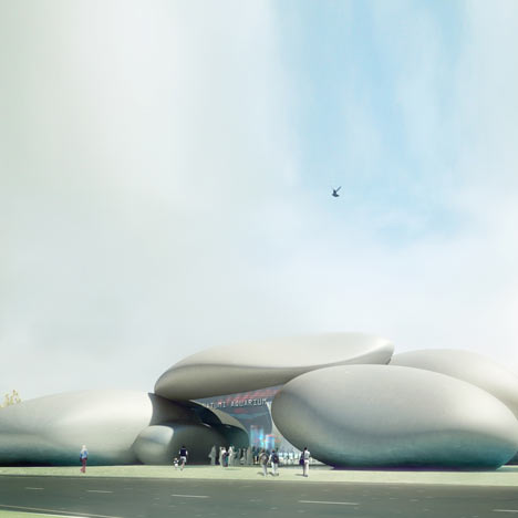Batumi Aquarium by Henning Larsen Architects