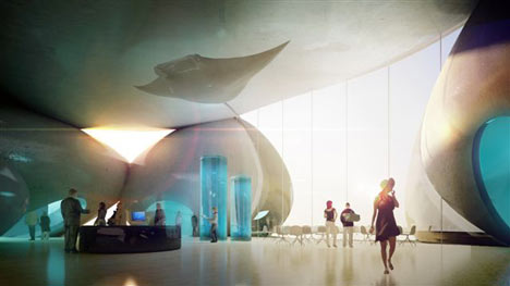 Henning Larsen Architects batumi aquarium