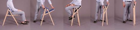 Chair by Krystian Kowalski