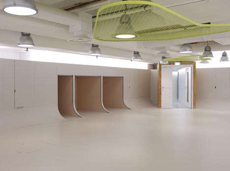 L'Atelier des Enfants at the Centre Pompidou by Mathieu Lehanneur