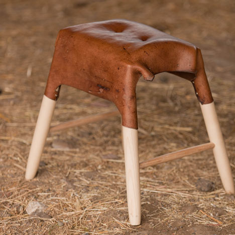 Leather furniture by Tortie Hoare - Dezeen