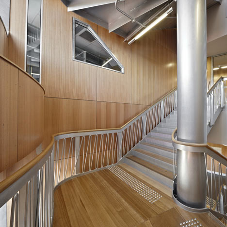 Menzies Research Building by Lyons