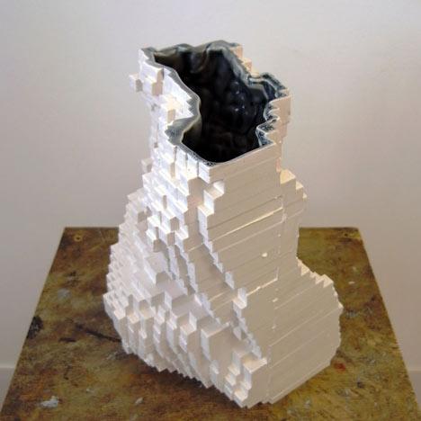 Pixel Mould by Julian Bond