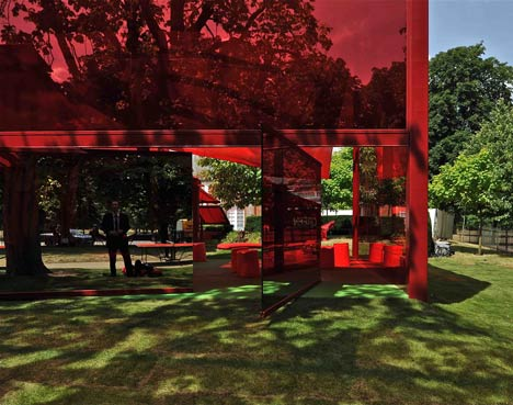 Serpentine Pavilion by Jean Nouvel