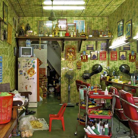 Shophouses 4 x 8 m Bangkok by Peter Nitsch
