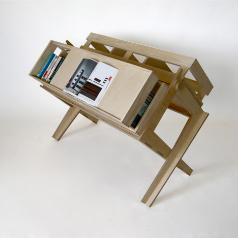 The Somerset House Book Stall System by Fotis Evans