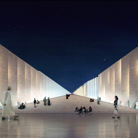 The Vanishing Mosque by RUX Design
