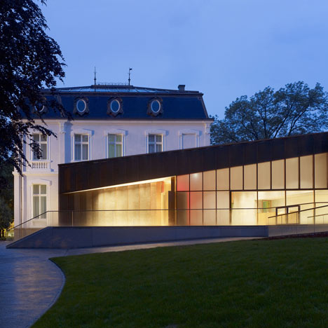 Villa Vauban extension by Philippe Schmit