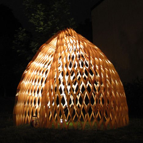 Wood Pavillion by Wing Yi Hui and Lap Ming Wong