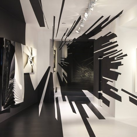 Zaha Hadid and Suprematism at Galerie Gmurzynska Zurich