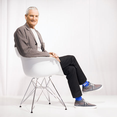 Dezeen podcast: James Dyson