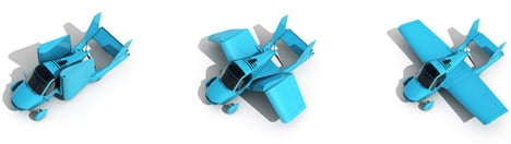 Transition Roadable Aircraft by KiBiSi for Terrafugia