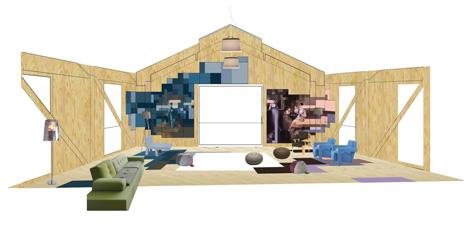 Balancing Barn by MVRDV - sitting room