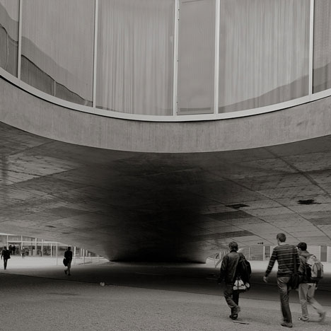 Movie by Pedro Kok: Rolex Learning Centre by SANAA