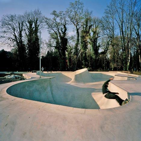 Skatepark Stuttgart by MBA/S Associates
