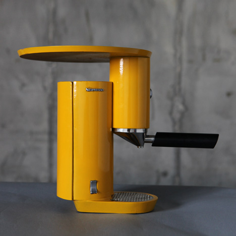 Espresso machine by Yaniv Berg
