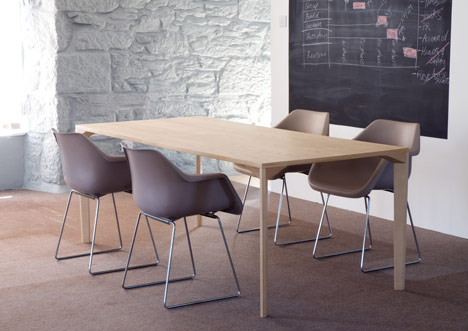 Iso table by Dylan Freeth for MARK